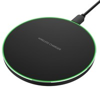 C1 Wireless Charger Support Qi Standard Charging Pad Super Thin Fast Charge With Micro USB 5pin