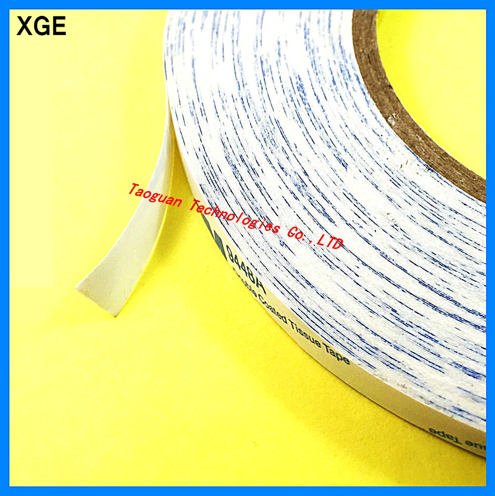 1 Roll 10mm White Double Side Adhesive Sticker Tape For Iphone 6s 6 5s Ipad air 3 2 Samsung HTC Cellphone Screen LCD Repair fix