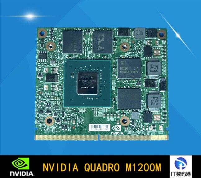 Видеокарта ноутбука Quadro M1200M гарантия на 1 год