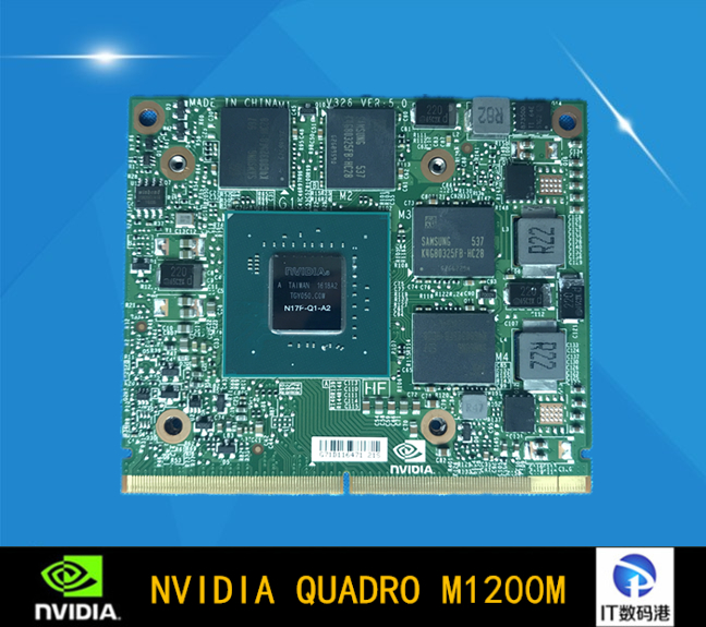Quadro M1200M Notebook Graphics Card Warranty For 1 Year