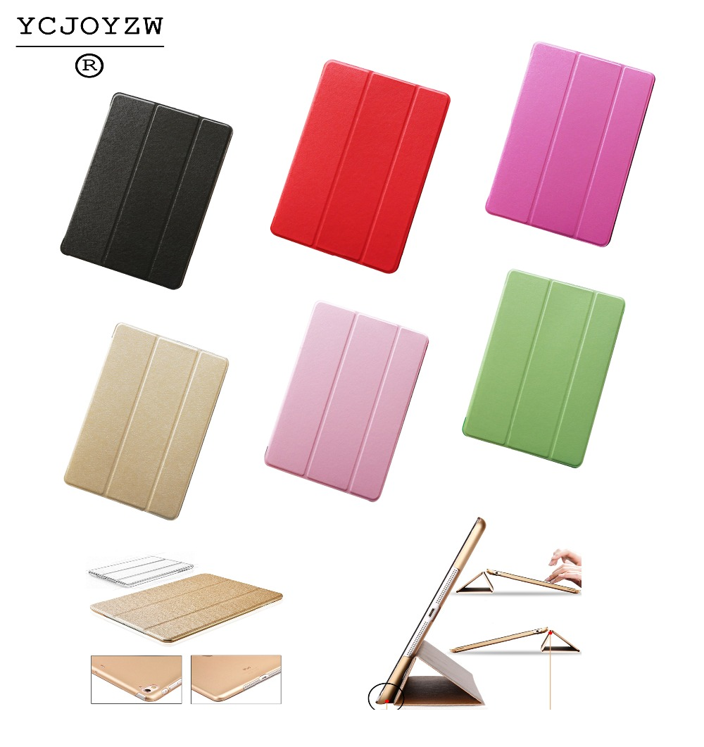 Case for Apple ipad Pro 9.7 inch ,YCJOYZW-PU Leather Slim Magnetic Front Smart Cover Skin+Hard PC Back-Sleep wake up Smart case for apple ipad pro 10 5 case 2017 new pu leather slim smart cover w pencil holder wake sleep function for ipad pro 10 5 case