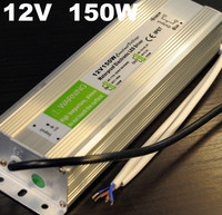 2016 Best Price 1pcs 12V 150W Electronic Waterproof Led Strip Driver Led Outdoor Power Supply AC