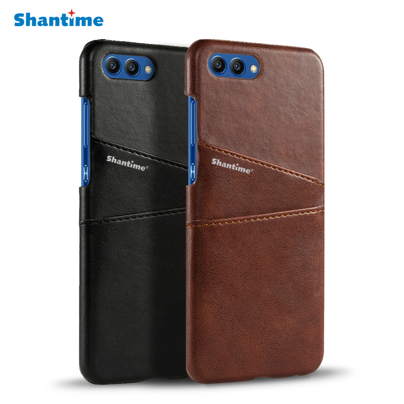 Luxury Pu Leather Card Slot Case For Huawei Honor V10 Case Cover For Huawei Honor 10 Business Case Vintage Leather Back CoverLuxury Pu Leather Card Slot Case For Huawei Honor V10 Case Cover For Huawei Honor 10 Business Case Vintage Leather Back Cover