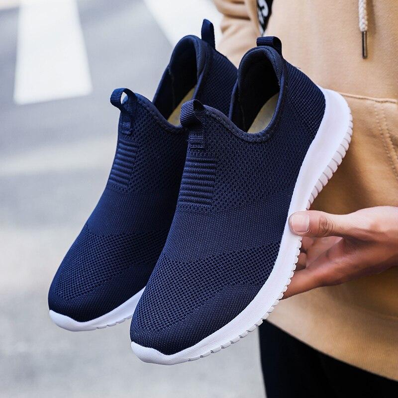 Plus Size 13 14 Men Casual Sport Shoes Man Walking Loafers Sneakers Breathable Soft Wear Easy Krasovki Men Zapatos De Hombre