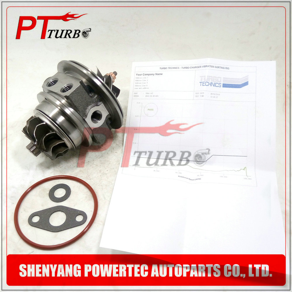 Cartridge CHRA TD04L turbocharger turbo core assy 49377-06213 / 49377-06212 for Volvo-PKW XC90 2.5 T 2002-2009 209HP 154KW