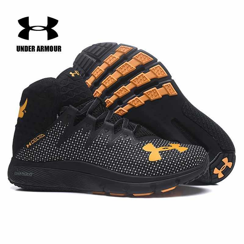 a34684366a884 ... Under Armour Men Project Rock Delta Basketball shoes Training boots  Zapatos de hombre Anti-skid ...