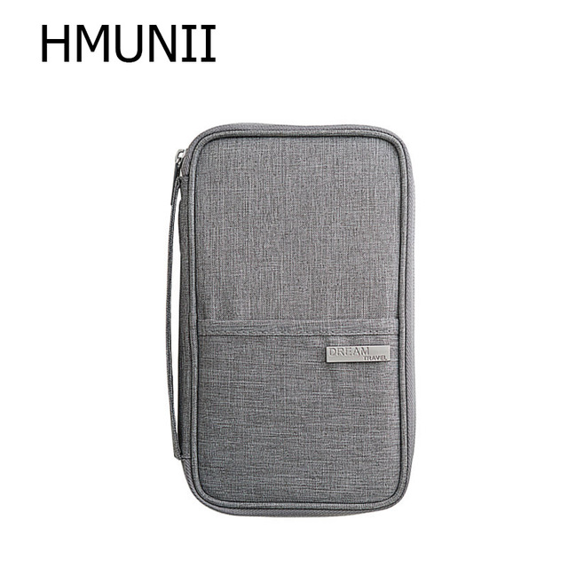 ca8b502e7894 US $7.36 29% OFF|HMUNII New Cationic Fabric Travel Organizer Passport  Holder Card Package Credit Card Holder ,Multi functional Travel  Accessories-in ...