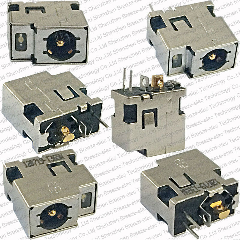 5 pieces/lot 1.65mm center pin Genuine New Laptop AC DC Power Port Jack Socket Connector Plug for HP mini 311 DM1 4.8*1.7mm