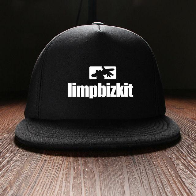Punk Hip Hop Impreso Limp Bizkit Rock Band Sons Mens Sol sombreros de visera  y snapback 0d4d3d04116