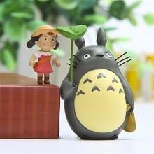 Girl Miniature Totoro Fairy Garden Micro Houses-Decoration Diy-Accessories Landscaping-Decor