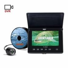 LUCKY, 4,3 дюйма, 20 м, подводная видеокамера для подледной рыбалки, Fishfinder, 4 шт., светодиодный, камера ночного видения для рыбалки