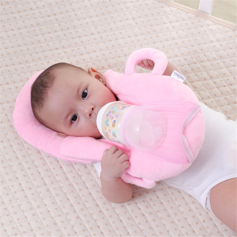 Infant Nursing Pillow Baby Head Protective Milk Feeding Pillow Multi-function Pad Cushion Useful Anti Roll Prevent Flat Head