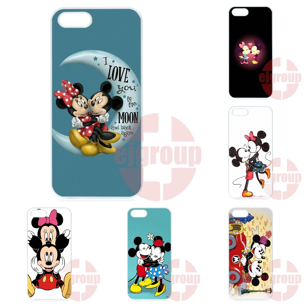 Mickey Minnie Plastic Cover Case For Galaxy Y S5360 Note 3 Neo Ace Nxt Plus On5 On7 On8 2016 For Amazon Fire