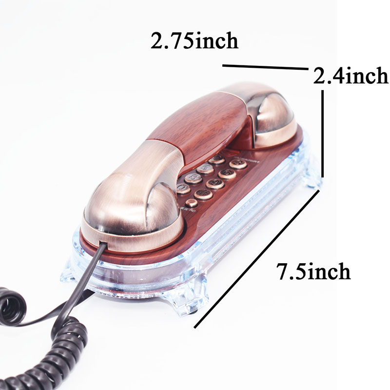 Moda Divarda quraşdırılmış telefon Evdə otel üçün kiçik - Ofis elektronikası - Fotoqrafiya 6
