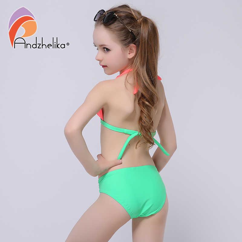 Children Swimwear Kids Bikini Girls Two Pieces Swimsuit Bathing Suit Beachwear