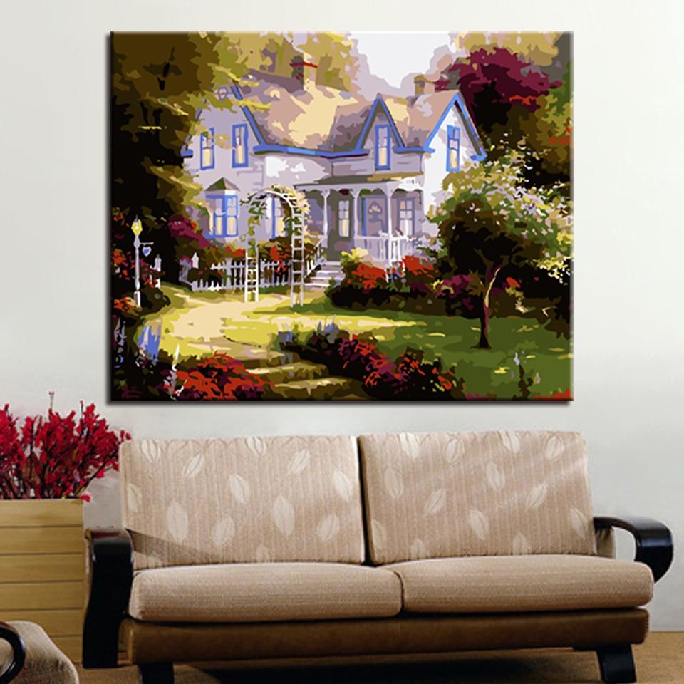 European-Style Cottage Garden