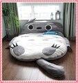 5.6ft x 6.6ft Totoro colchoneta cama tatami Japonés sofá cama animal rey cama vendedora caliente