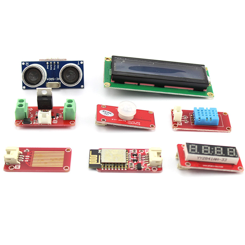 Elecrow Crowtail Advanced Kit for Arduino Starters Kit DIY Maker Fans With User Guide Reatail Box Free DHL