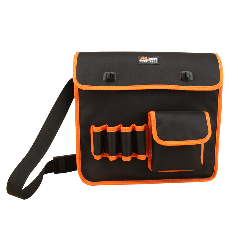 32/35CM Single Shoulder Multifunction Tool Canvas Kit Repair Electrician Kit Single Shoulder Tool Bag canvas kit multifunction waist bag electrician repair water resistant pockets tool bag