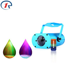 ZjRight IR Remote Colorful Water Wave effect Stage Light Sound control Projection LED light Home Party ktv bar DJ disco lighting