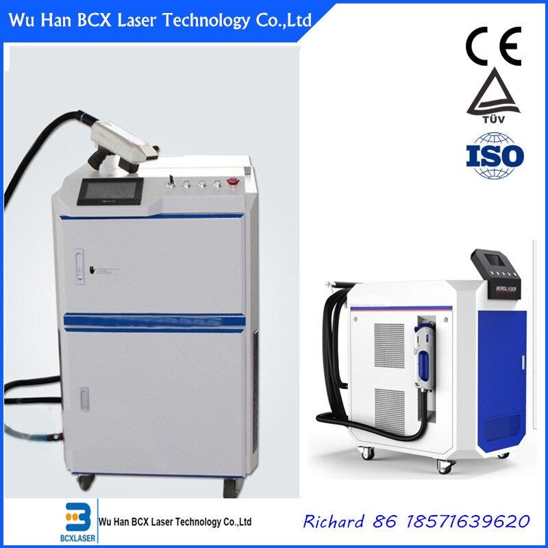 Хорошая цена лазерной удаления ржавчины очистки металлической машиной 100 Вт/200 Вт/500 Вт