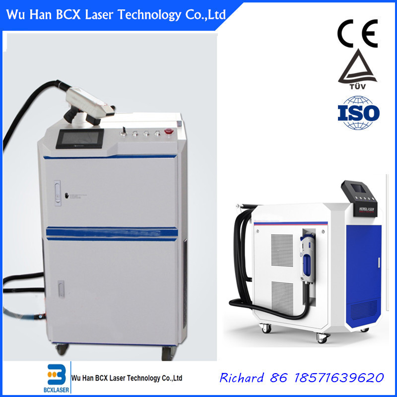 Good price laser rust removal cleaning metal machine 100W/200W/500W