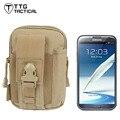 Ttgtactical d30 cintura sacos de cintura molle militar edc mensageiro saco militar do exército bolso saco organizador para smart phone samsung