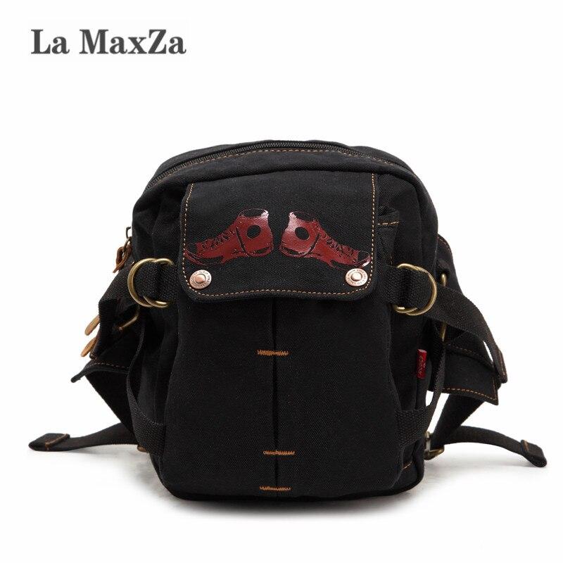 La MaxZa Multifunzionale Messenger bag a tracolla casuale popolare tasche Uomini tela petto