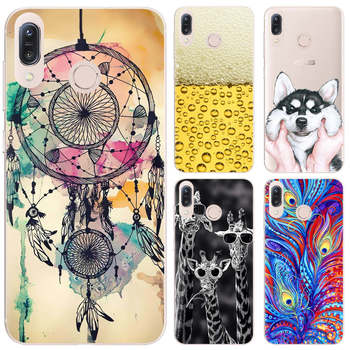 Phone Case For Asus Zenfone Max/M1/ZB555KL 5.5-inch Cute Cartoon High Quality Painted TPU Soft Case Silicone Cover цена 2017