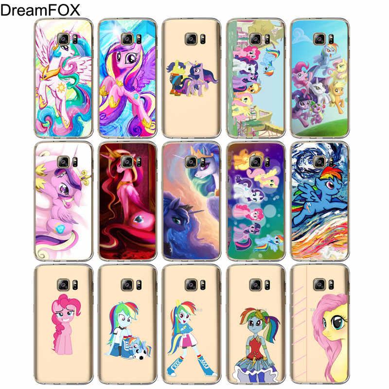 DREAMFOX M526 Pony Stay Мягкий силиконовый чехол из ТПУ для samsung Galaxy Note S 5 6 7 8 9 10 10e Lite Edge Plus Grand Prime