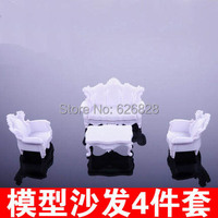 1Sets Scale 1 25 Indoor Scene Building Sand Table Cloth Art Sofa Model 4 Suit Europe