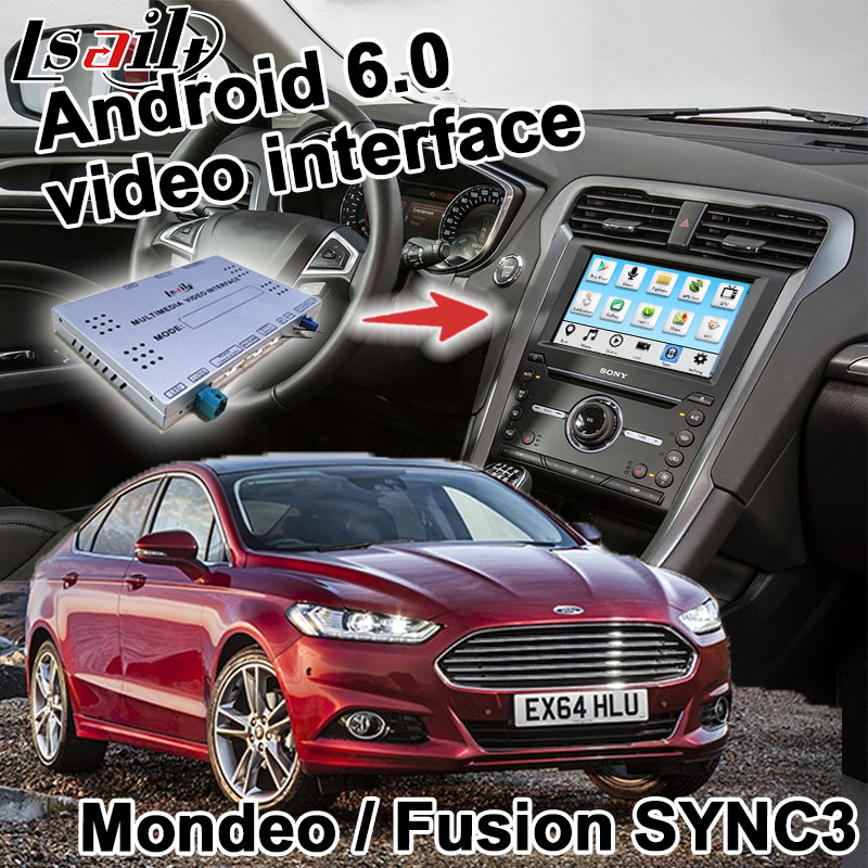Android navigation box for Ford Fusion / Mondeo Edge Focus Fiesta etc SYNC 3 system video interface box Carplay yandex