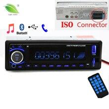 Новые 12 В автомобиля Радио стерео Авто Аудио плеер Bluetooth телефон AUX-IN MP3 FM USB 1 DIN Дистанционное управление Авто радио