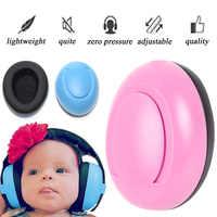 Baby Ear Muffs Sponge Kids Protective Noise Reduction Earmuff Elastic Hearing Protection Hearing Protection Earmuff Anti-Noise