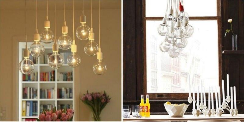 Muuto E27 Hanglamp : Modern muuto e socket chandelier lamp light fixture hanging