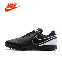 Orijinal Yeni Geliş Resmi NIKE TIEMPO GENIOII TF erkek Su Geçirmez Futbol Ayakkabı Spor Sneakers