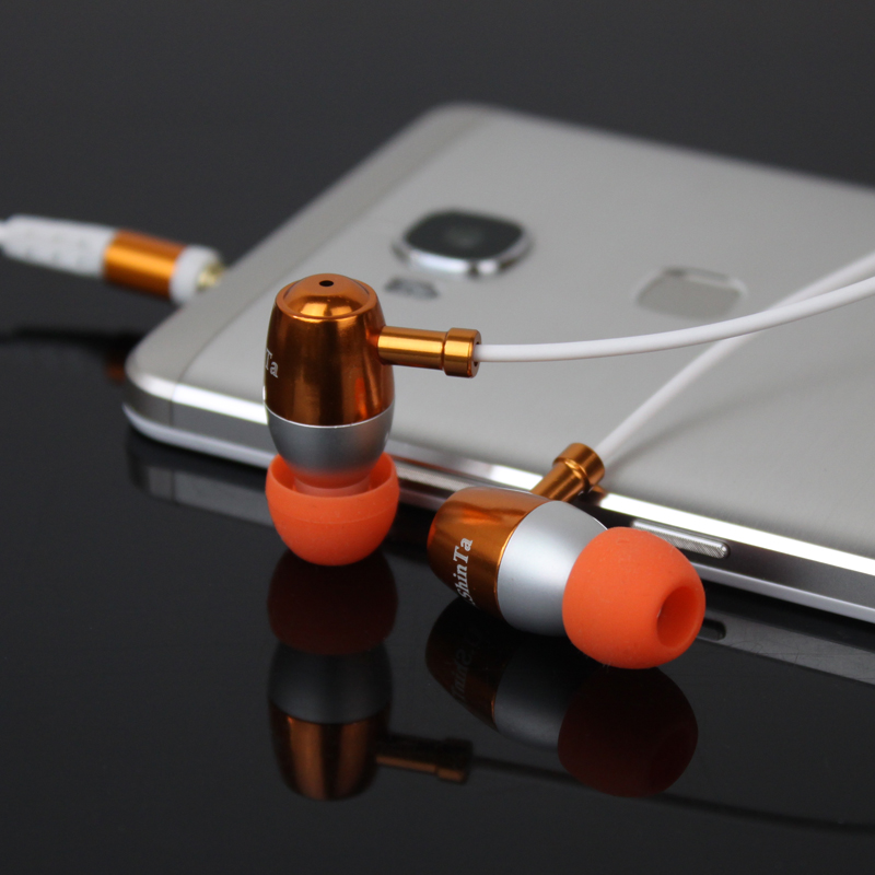 New 2017 Original Stereo Bass earphone Headphones Metal handsfree Headset 3.5mm Earbuds For IPhone MP3 Player all phone 100% original high quality stereo bass headset in ear earphone handsfree headband 3 5mm earbuds for phone mp3 player