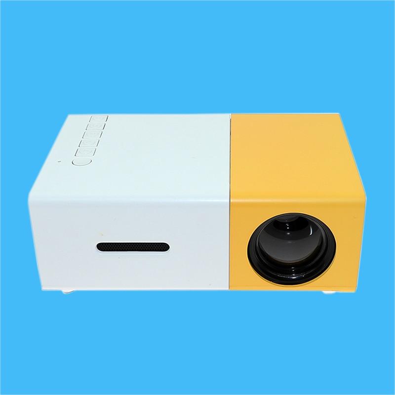 Yg310 Lcd Projector 600lm 320 X 240 1080p Mini Portable Hd: NEW YG 300 LCD LED Portable Projector Mini 400 600LM 1080p