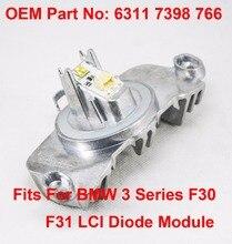 1PCS F30 F31 LCI Daytime Driving LED Diode Light DRL Maker OEM Part Number 63117398766 Fit For BMW 3 Series 2014-16