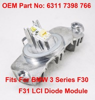 1PCS F30 F31 LCI Daytime Driving LED Diode Light DRL LED Maker OEM Part Number 63117398766 Fit For BMW 3 Series F30 F31 2014 16