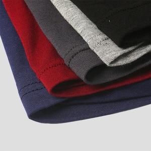 Image 3 - Pugile del mens della biancheria intima degli uomini sexy mutande maschio solido bicchierini di marca 7 pcs