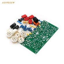 Ultra-lineal de tipo push-pull 6SL7 + 6V6 Tubo amplificador de potencia Kit DIY (12 W) No 6V6 y 6SL7 tubos