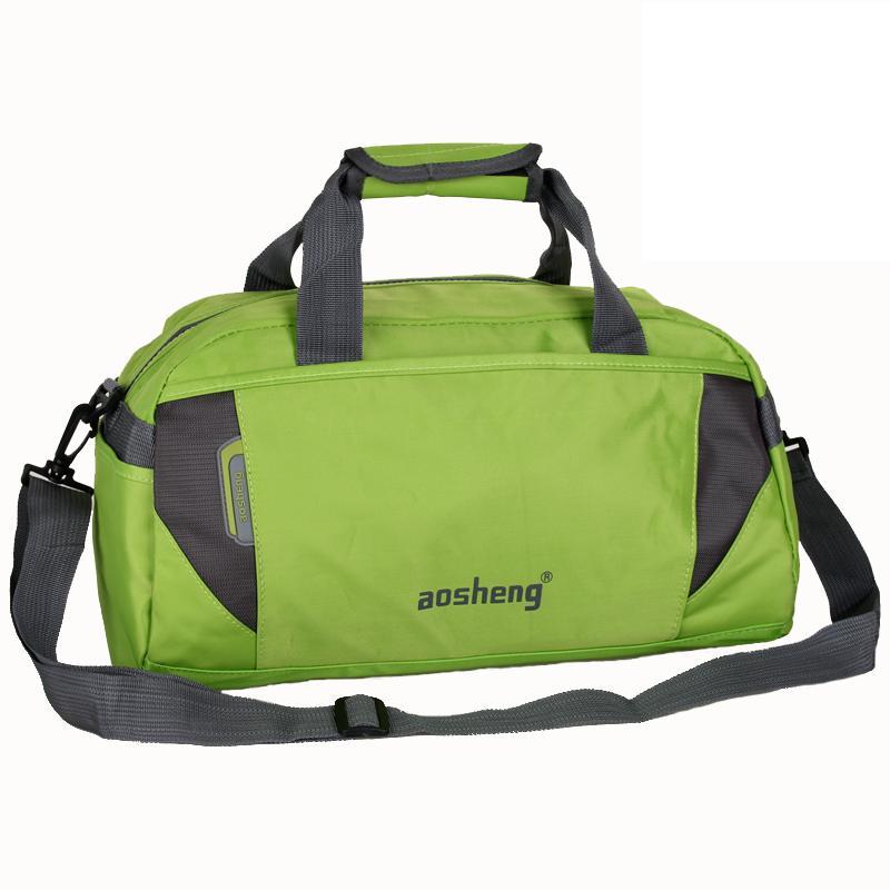 Gym-Bag Hot-Nylon-Material Shoulder-Bag Travel-Bag Women Big for And 23--40--22cm 7-Colors