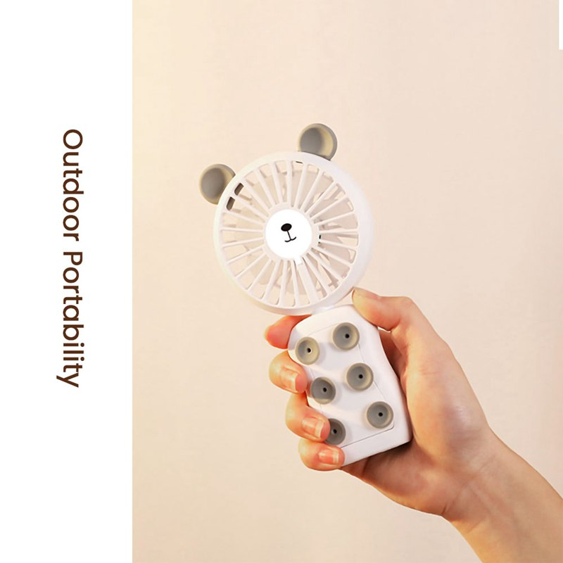 Image 5 - Portable Usb Mini Fan Adsorb Mobile Phone Electronic Gadgets Night Light Handheld Accessories 2 Winds Adjustable-in Fans from Consumer Electronics