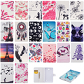 Butterfly Painted Flip PU Leather Case For Samsung Galaxy Tab 4 7.0 T230 Tablet Case Cover For Samsung Galaxy Tab 4 T231 T235