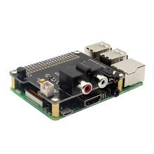 X900 HIFI DAC ES9023 Expansion Board HD Audio Expansion Board For Raspberry Pi 3 Model B / 2B / A+ / Zero W