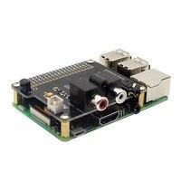 X900 HIFI DAC ES9023 Expansion Board HD Audio Expansion Board For Raspberry Pi 3 Model B