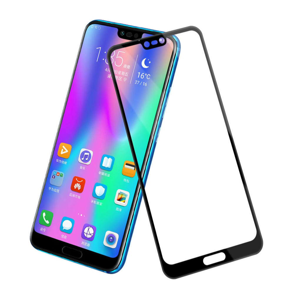 Image 2 - Protective Glass honor 8c 8 lite 8a 8s screen protector on for huawei 8lite Glass honor 8 light 8s 8c tempered film honer huawey-in Phone Screen Protectors from Cellphones & Telecommunications