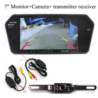 7 TFT Monitor Rearview Camera 7 TFT bluetooth mirror Monitor long plate Rearview Monitor