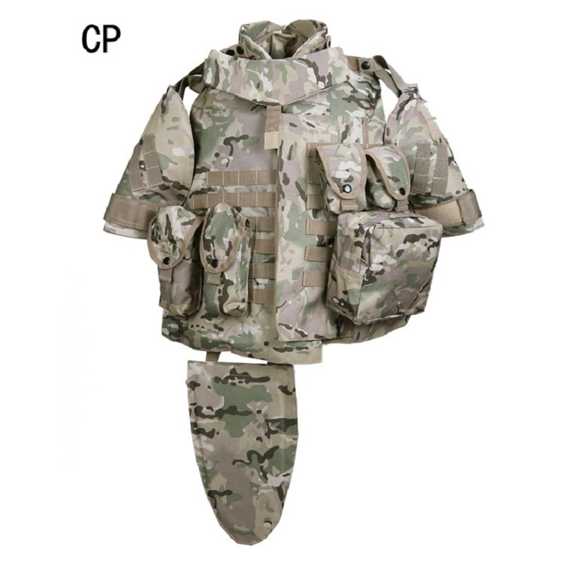 Men's Army Tactical Vest Tactical Airsoft Paintball OTV Combat Vest Molle Survival Game Armor  Military Vest Outdoor CS Jacket